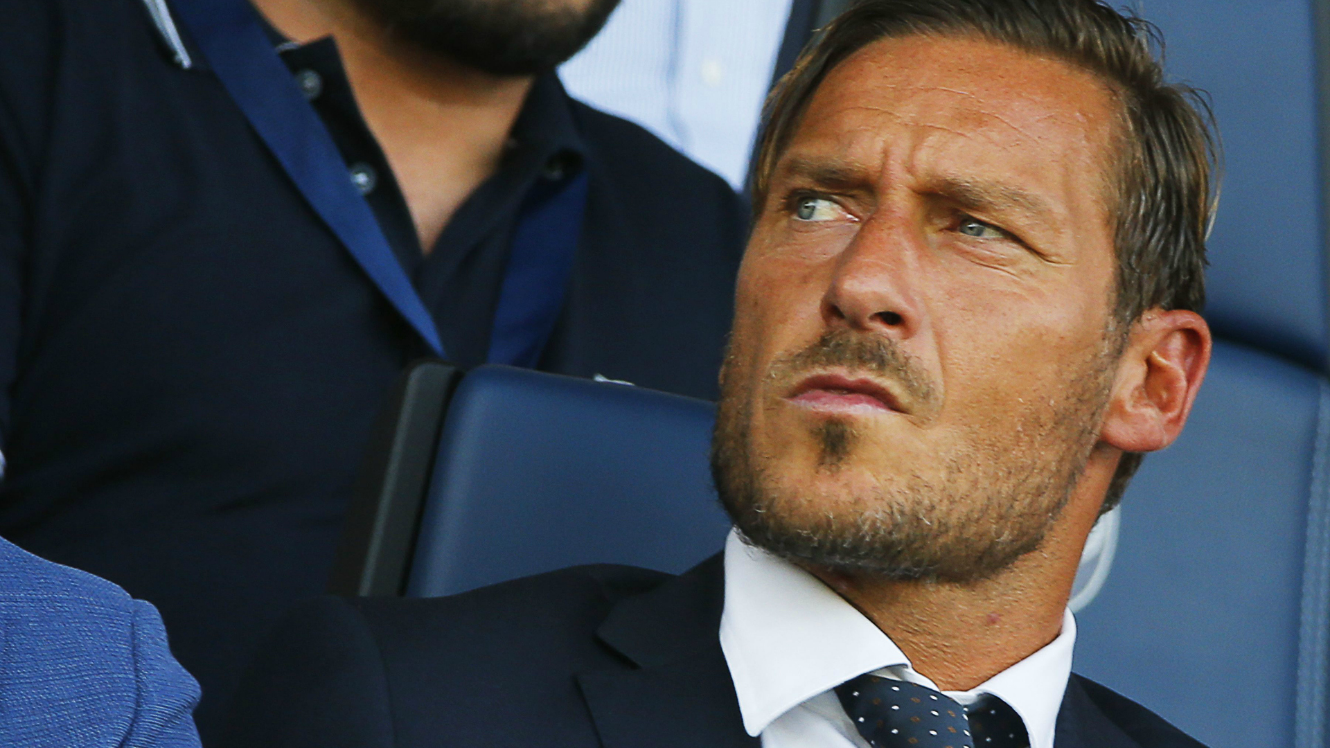 Totti: in tribuna si soffre molto di più