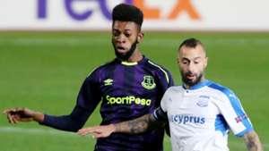 Beni Baningime, Everton, Fotis Papoulis, Apollon Limassol