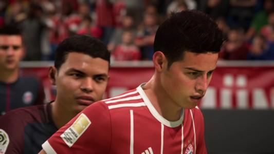 James en el FIFA 18