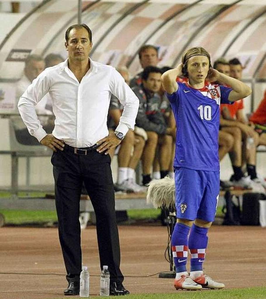 Igor Stimac Luka Modric