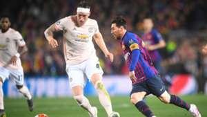 Lionel Messi Phil Jones Barca United