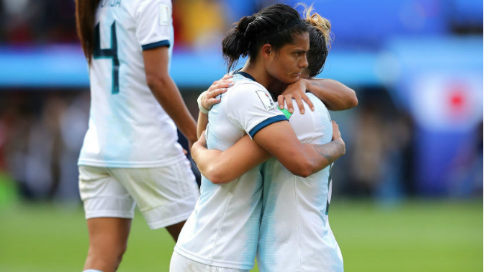 Sole Jaimes Aldana Cometti Argentina Japão Copa do Mundo Feminina 11062019