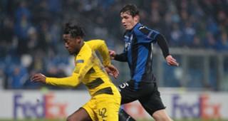 Michy Batshuayi Atalanta Borussia Dortmund Europa League