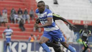 AFC Leopards midfielder Andrew Tololwa