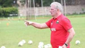 Harambee Stars coach Paul Put.