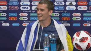 CAPTURA Antoine Griezmann France Uruguay World Cup