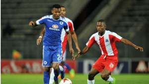 Mandla Masango of SuperSport United against Maritzburg United