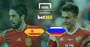 Spain Russia Bet 365