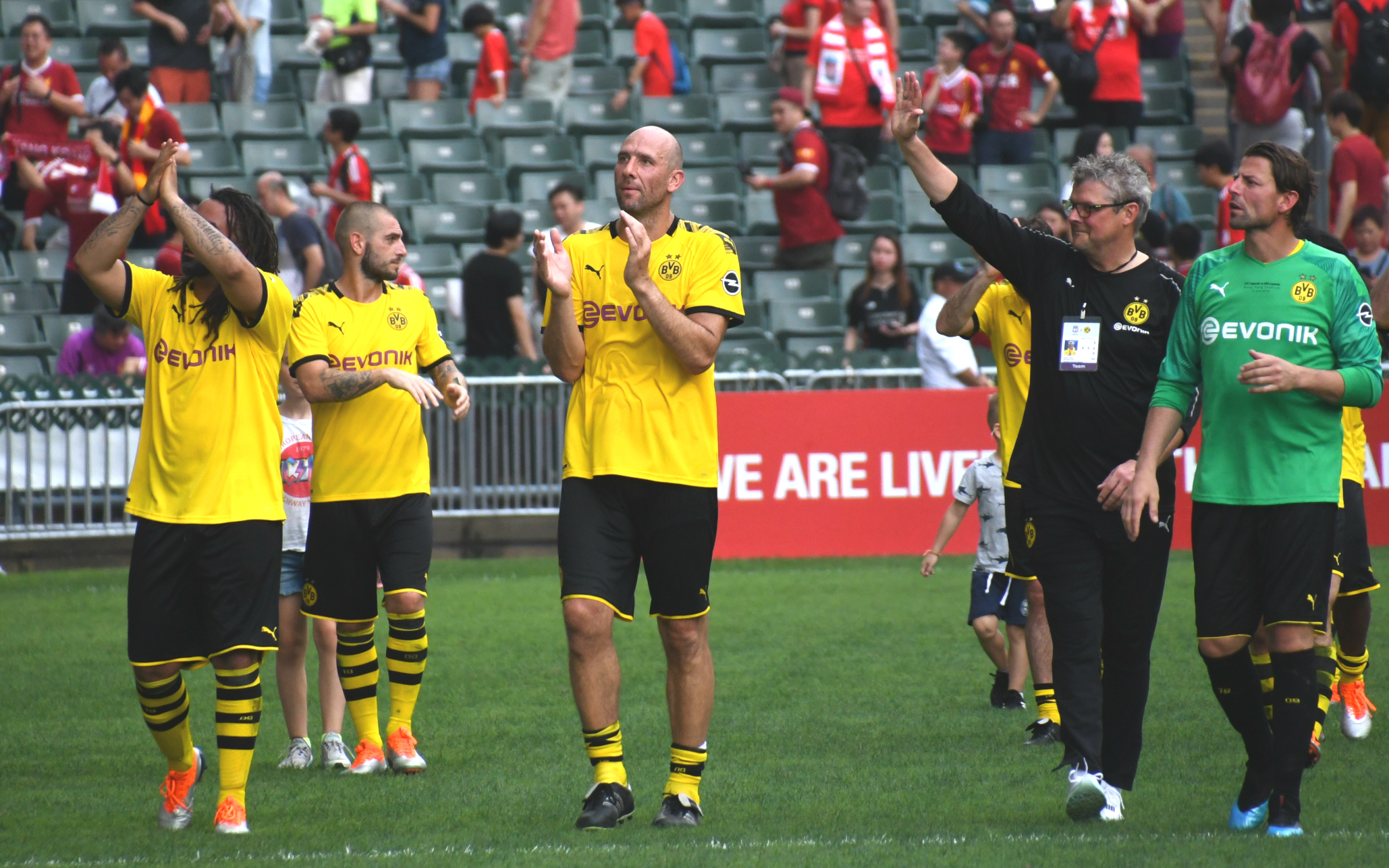 Dortmund legend team to play in Hong Kong Stadium.