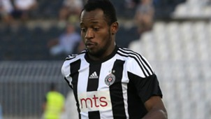 Oumarou Aboubakar, FK Partizan v OFK Belgrade - Serbia Super League