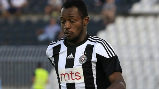 Oumarou Aboubakar, FK Partizan v OFK Belgrade - Serbia Super League
