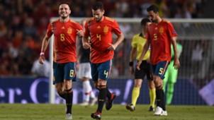 Saul Niguez Nacho Fernandez España Croacia Spain Croatia UEFA Nations League 11092018