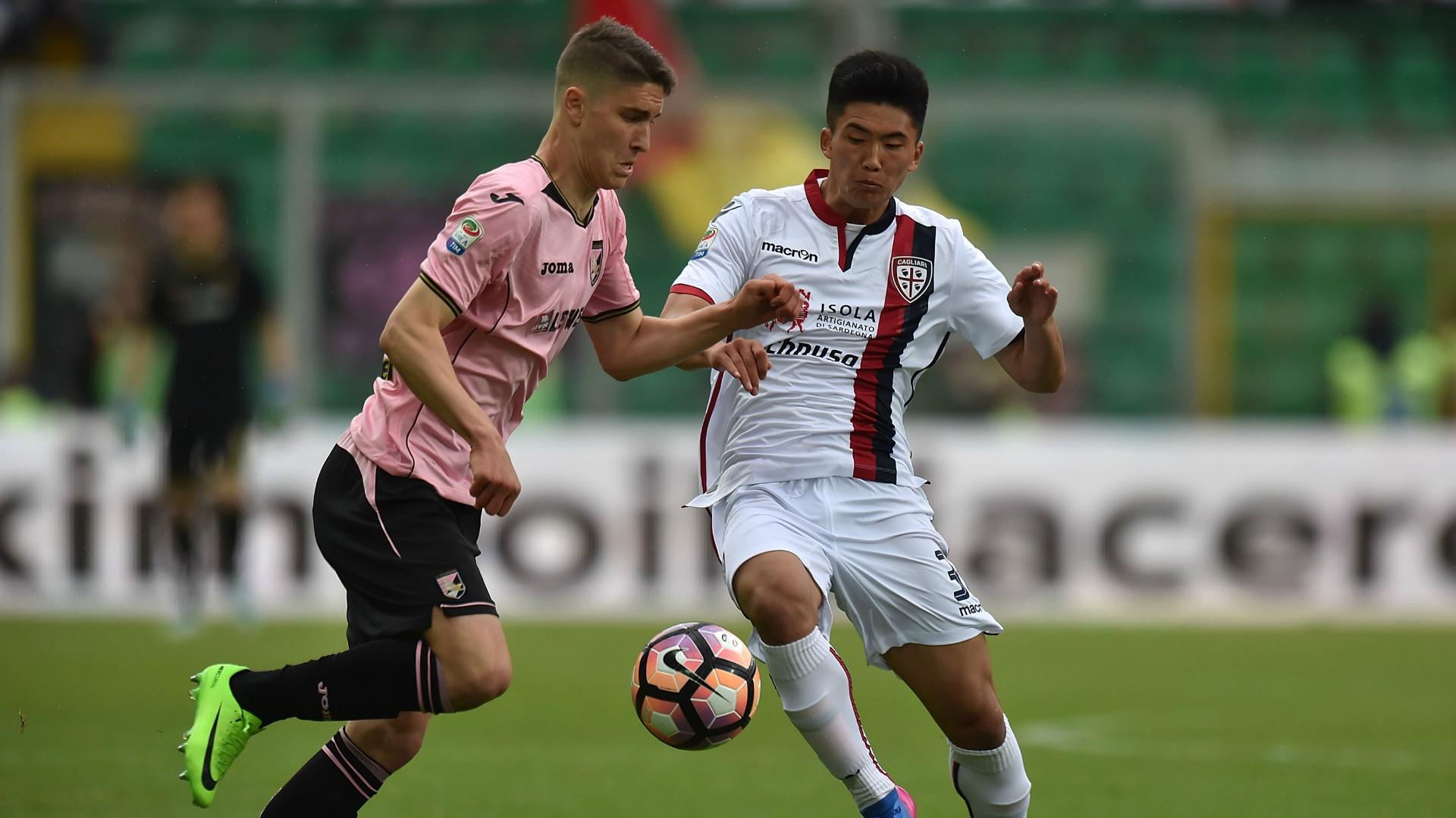 Roland Sellai Kwang Song Han Palermo Cagliari Serie A 04022017