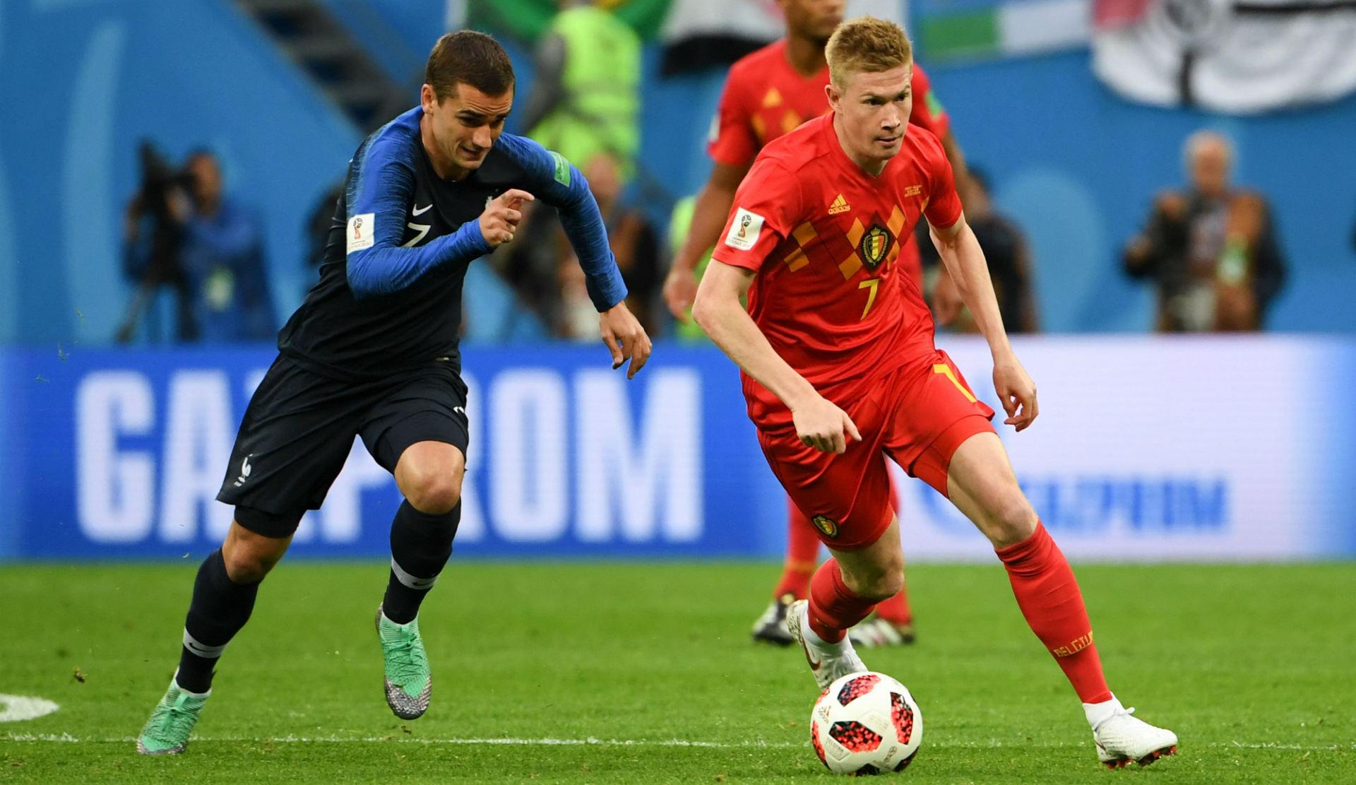 Buteur, Meunier finit bien son Mondial — Sélections