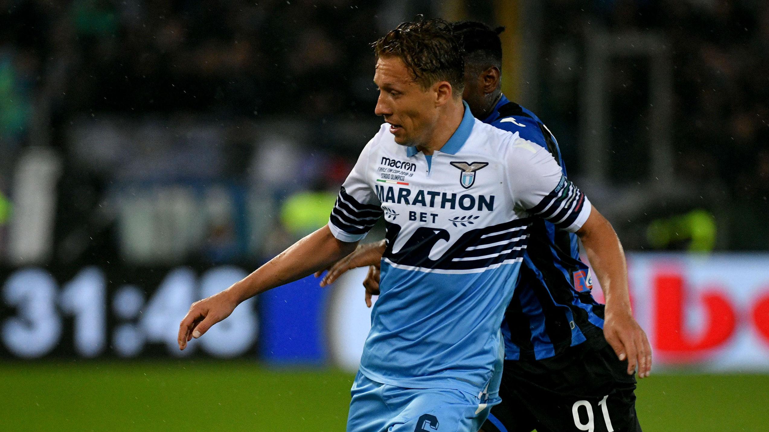 Lucas Leiva Lazio Atalanta Coppa Italia 15 05 2019