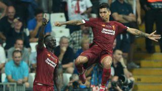 Sadio Mane Roberto Firmino Liverpool Super Cup