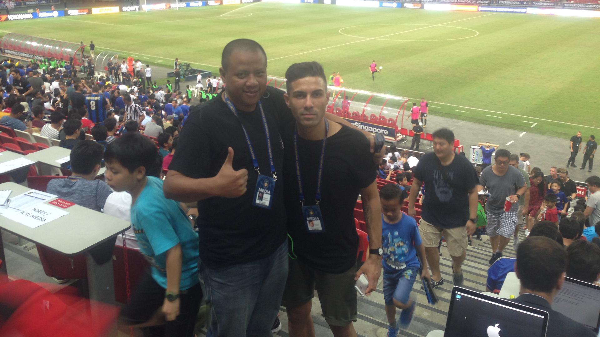 Gunawan Widyantara & Francesco Fontana - Goal Indonesia & Tuttomercatoweb