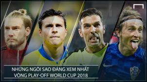 Stars to watch World Cup 2018 play-off