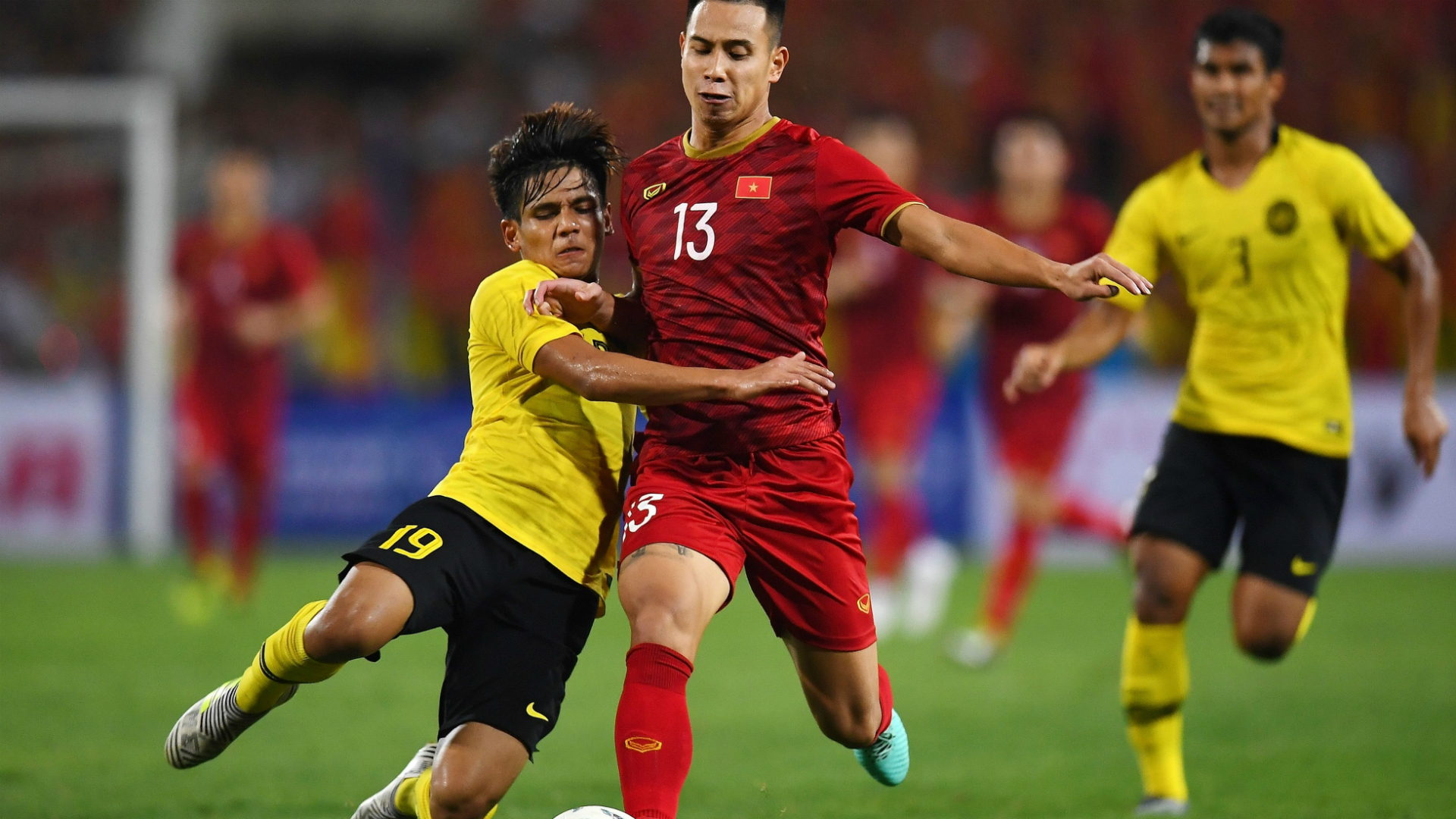 Akhyar Rashid, Vietnam v Malaysia, World Cup qualifier, 10 Oct 2019
