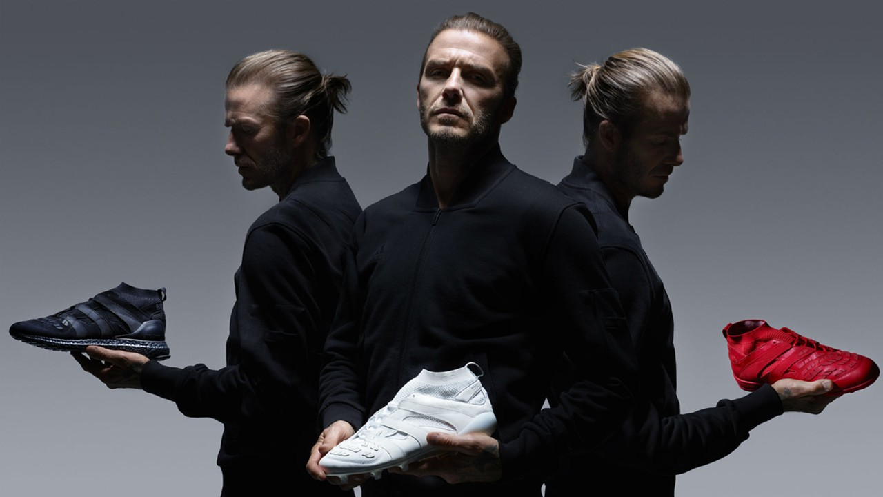 Adidas David Beckham Capsule Collection Former Man Utd Star Launches New Footwear Goal Com