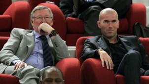 Alex Ferugson Zinedine Zidane
