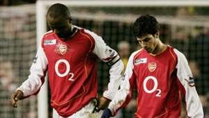 Patrick Vieira Cesc Fabregas Arsenal