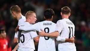 Teucher Ochs Dahoud Germany U21 Azerbaijan 10062017