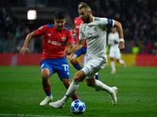 BENZEMA CSKA MOSCU REAL MADRID CHAMPIONS LEAGUE