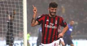 Patrick Cutrone Milan Lazio Serie A