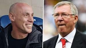 Dave Fevre Sir Alex Ferguson