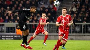 Kylian Mbappe FC Bayern Munchen Paris Saint Germain Champions League 05122017