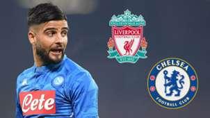 Insigne Liverpool/Chelsea