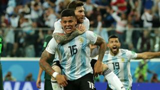 Marcos Rojo Argentina World Cup