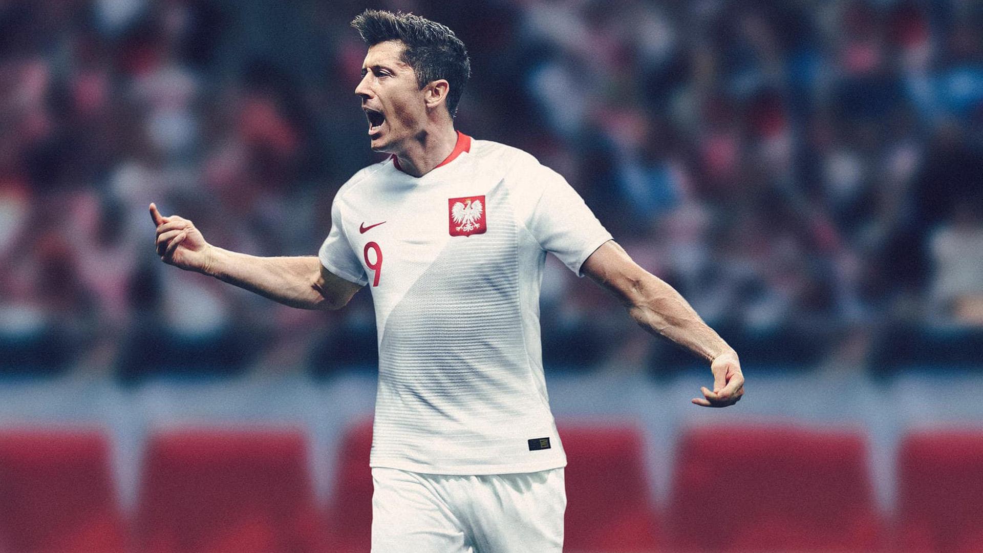 Polonia Camiseta Titular 2018 Poland Home Kit