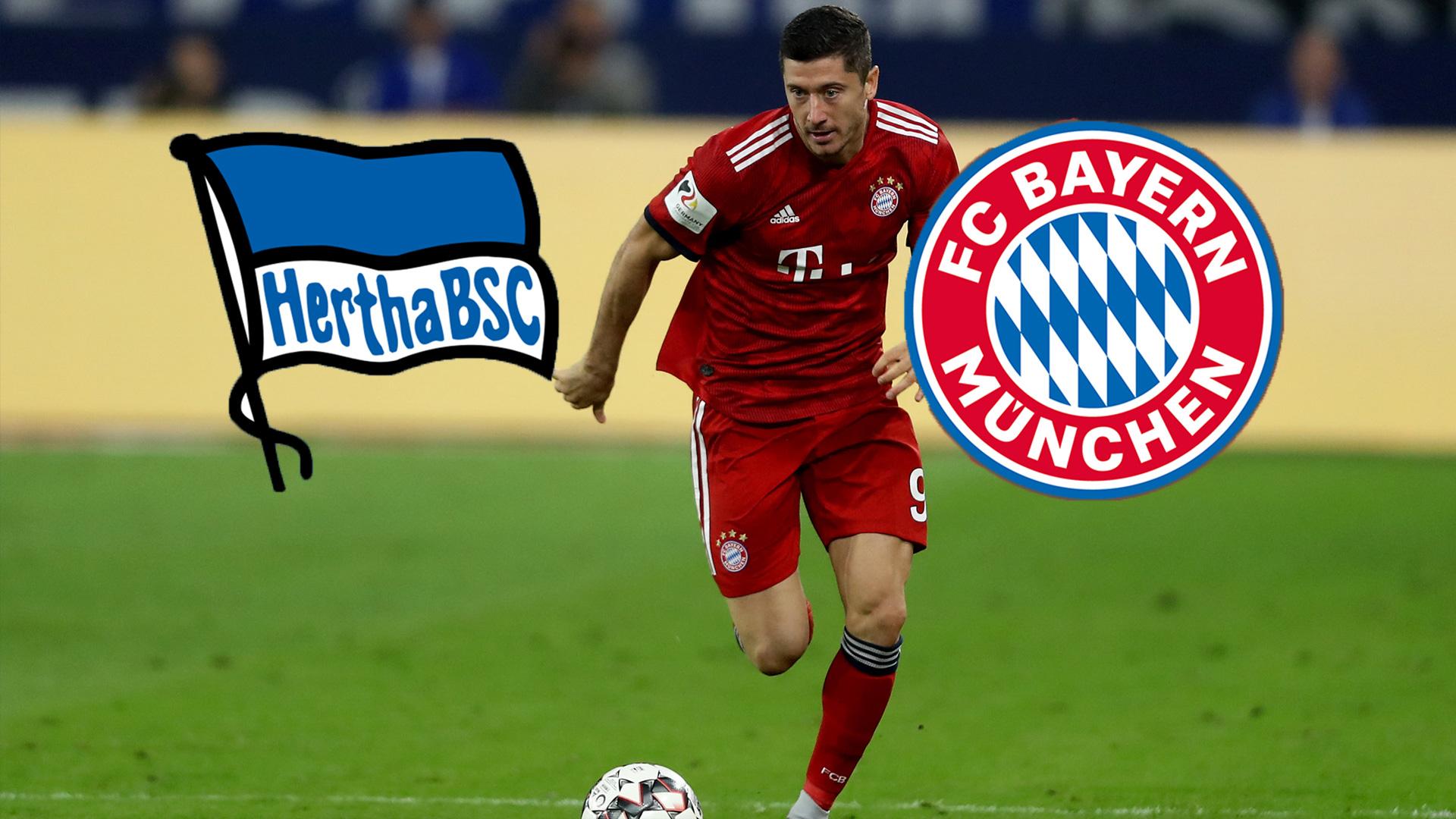 FC Bayern München Hertha BSC TV LIVESTREAM Bundesliga