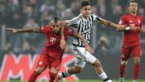 Vidal Juventus Bayern
