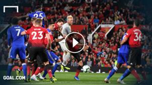 highlights premier league Leicester ManUnited