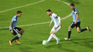 Messi Argentina Uruguay Eliminatorias 31082017