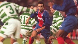 Youri Djorkaeff PSG Celtic 1995