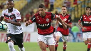 Ederson Flamengo Atletico-GO Copa do Brasil 10052017