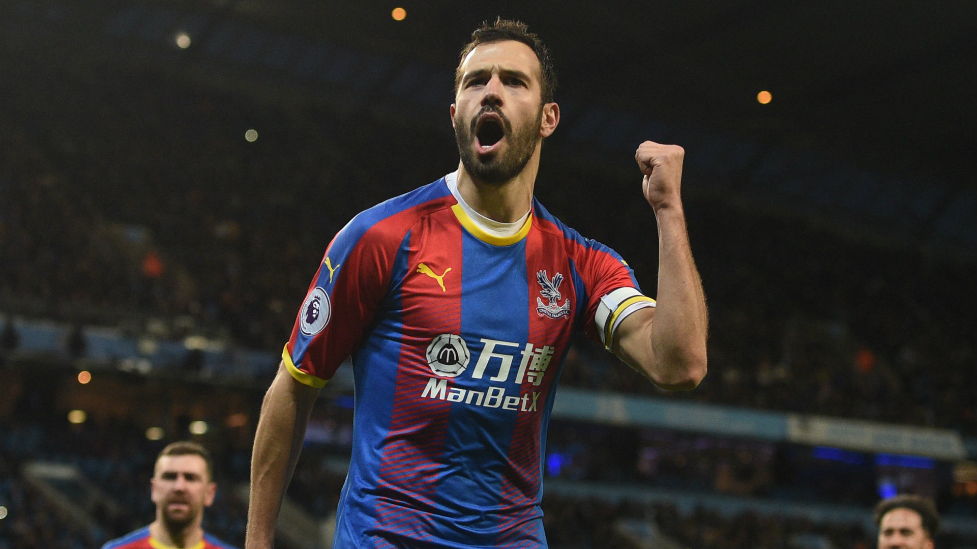 Luka Milivojevic Manchester City vs Crystal Palace Premier League 2018-19