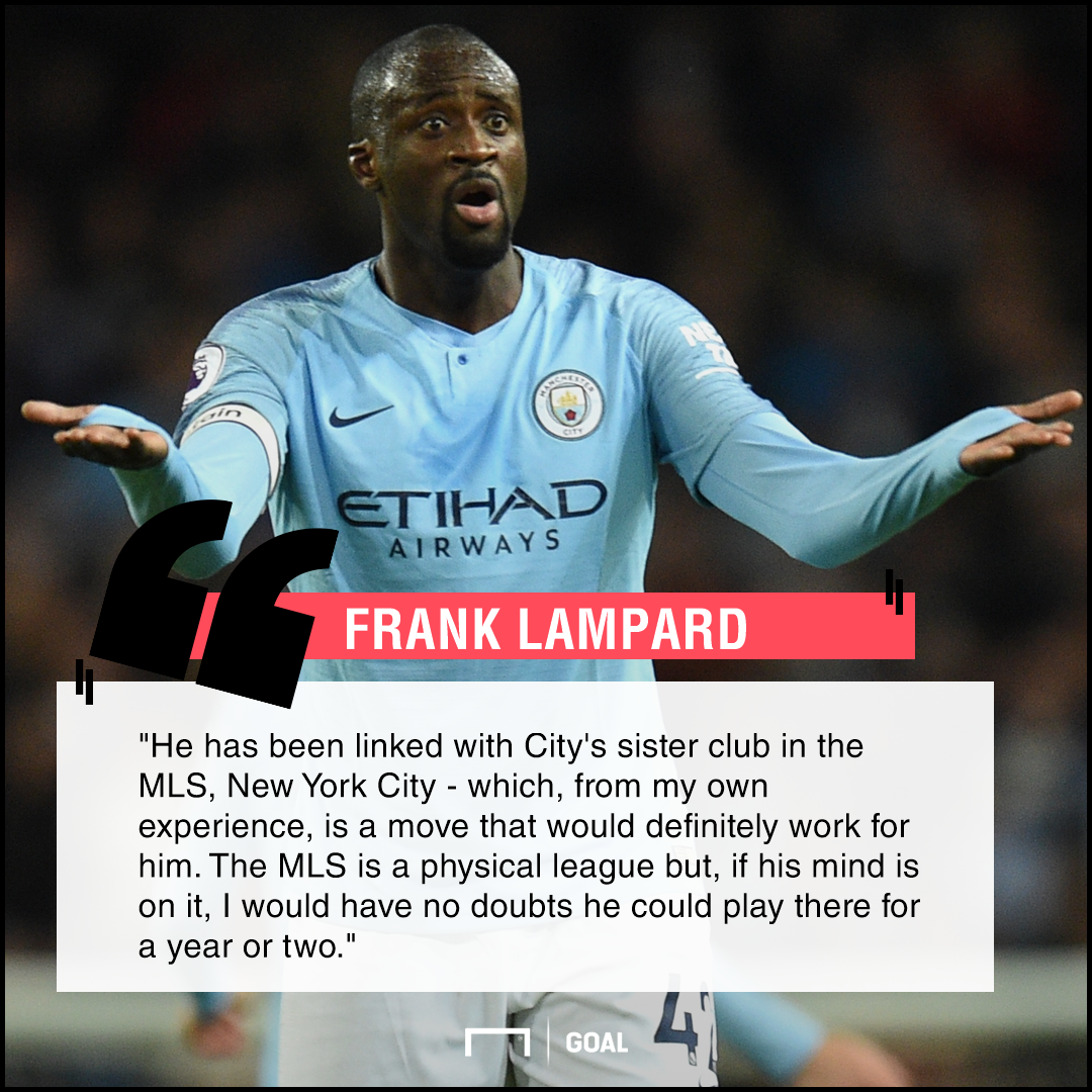 Yaya Toure to MLS Frank Lampard