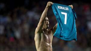 Cristiano Ronaldo Barcelona Real Madrid Supercopa 13082017