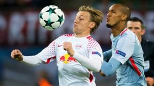 Emil Forsberg RB Leipzig Champions League 13092017