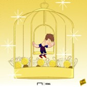 Messi Golden Cage