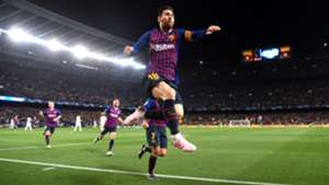 Lionel Messi Barcelona Manchester United UCL 16042019