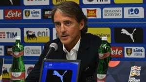 Roberto Mancini Italy press conference 06092018