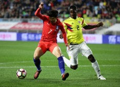 Colombia vs Corea Amistoso 10112017