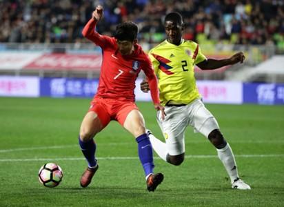 Colombia vs Corea Amistoso 10112017