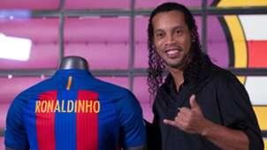 Ronaldinho FC Barcelona Botschafter 16102017